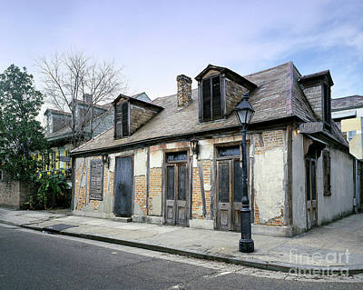 Photograph - New Orleans, Lafitte's.  by Granger