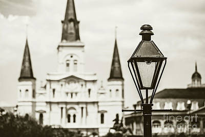 New Orleans Landmark Art Print by Scott Pellegrin