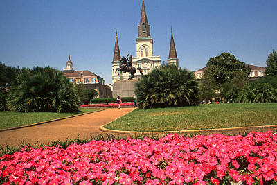 Usa Photograph - New Orleans Louisiana - Photo Art by Art America Gallery Peter Potter