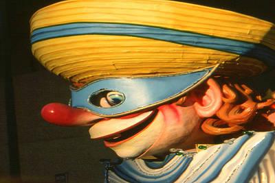 New Orleans Mardi Gras Mask - Photo Art Art Print by Art America Gallery Peter Potter