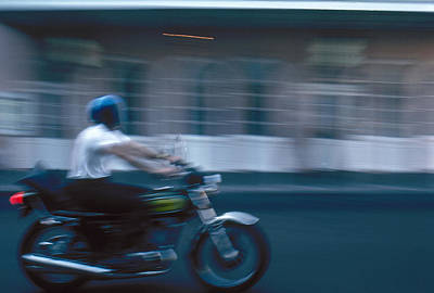 Photograph - New Orleans: Motorcycle by Granger