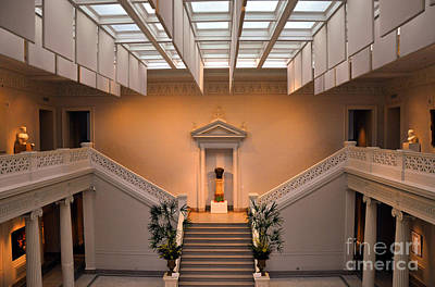 Photograph - New Orleans Museum Of Art Lobby by Andrew Dinh