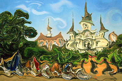 Painting - New Orleans Is Jazz Music - Modern Artwork by Peter Potter