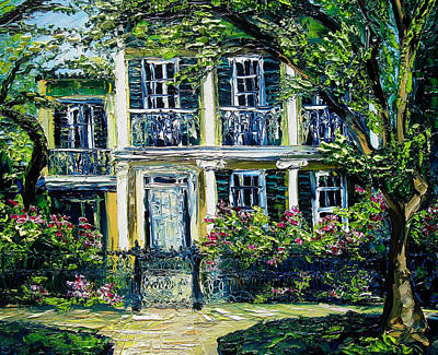 Sasik Painting - New Orleans Painting Veiled In Mystery by Beata Sasik