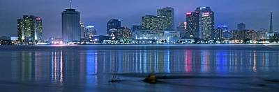 Photograph - New Orleans Panorama by Frozen in Time Fine Art Photography