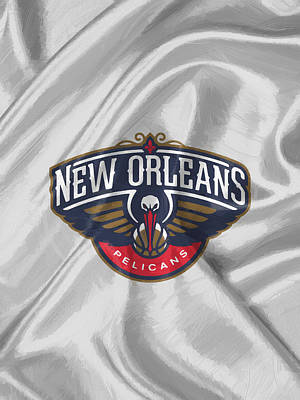 Sport Painting - New Orleans Pelicans by Afterdarkness