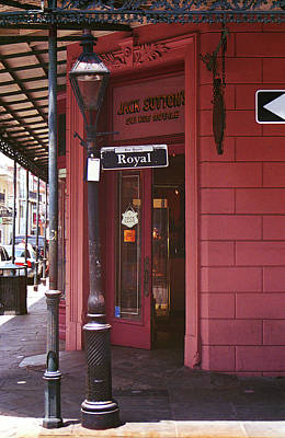 Photograph - New Orleans Royal Street 2004 by Frank Romeo