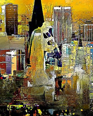 Digital Art - New Orleans Serenade by Lynda Payton