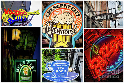 Photograph - New Orleans Signs_2 by Kathleen K Parker
