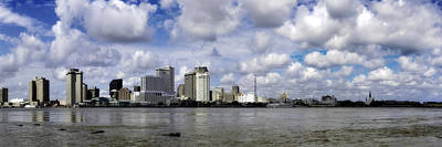 Photograph - New Orleans Skyline Panoramic by Chris Coffee
