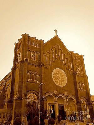 Photograph - New Orleans St. Joseph Catholic Church by Michael Hoard