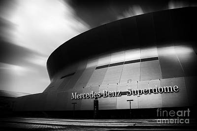 New Orleans Stadium Art Print by Alessandro Giorgi Art Photography