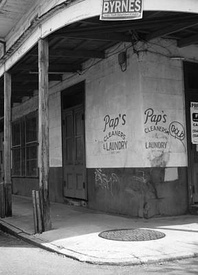 French Laundry Photograph - New Orleans Street Corner by Rhianna Wurman