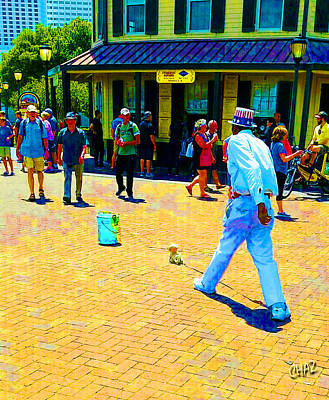 Photograph - New Orleans Street Performer by CHAZ Daugherty