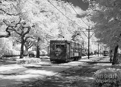 Photograph - New Orleans, Streetcar.  by Granger