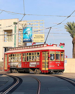 Photograph - New Orleans Streetcar by Patricia Spicuzza
