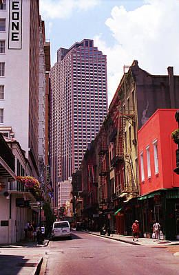 Photograph - New Orleans Streets 2004 by Frank Romeo