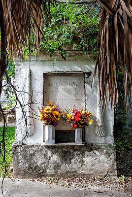 Photograph - New Orleans Tomb-odd Fellows Rest by Kathleen K Parker