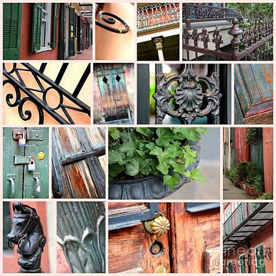 Photograph - New Orleans Touch Collage by Carol Groenen