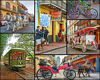 Funeral Procession Photograph - New Orleans Transportation by Steve Harrington
