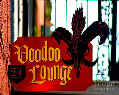 Photograph - New Orleans Voodoo Lounge Will Cast A Spell On You by Michael Hoard