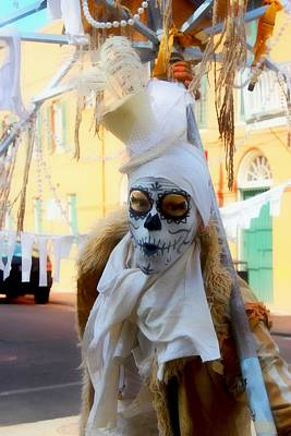 New Orleans Voodoo Man Art Print by Barbara Chichester