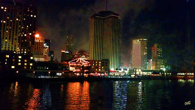 Photograph - New Orleans Waterfront by CHAZ Daugherty