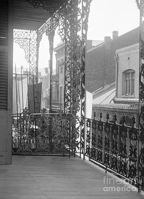 Photograph - New Orleans, Wrought Iron.  by Granger