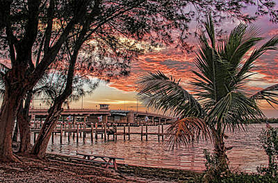 Photograph - New Pass Bridge 1 by HH Photography of Florida