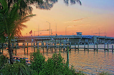 Photograph - New Pass Bridge 2 by HH Photography of Florida