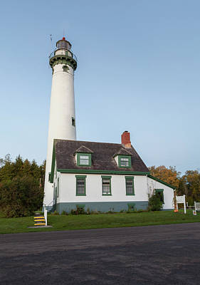 Photograph - New Presque Isle Light  by Fran Riley