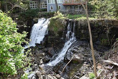 Photograph - New Preston Waterfalls 1 by Nina Kindred