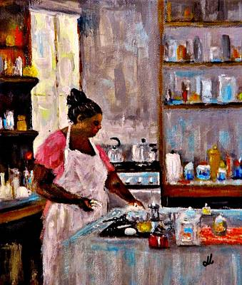 Painting - New Recipe.. by Cristina Mihailescu