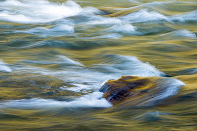 Photograph - New River Abstract New River Gorge by Rick Dunnuck