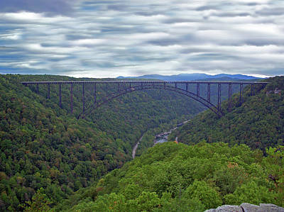 Photograph - New River Bridge by Aimee L Maher Photography and Art Visit ALMGallerydotcom