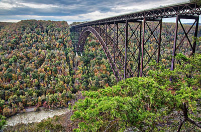 Photograph - New River Gorge Bridge by Andy Crawford