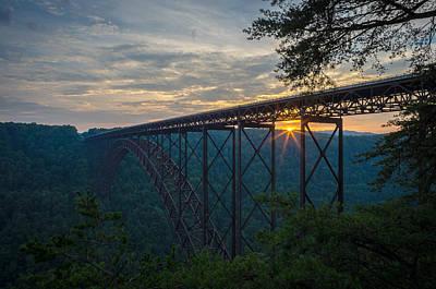New River Gorge Bridge Photograph - New River Gorge Bridge by Brad Monahan
