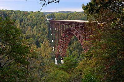 Photograph - New River Gorge Bridge by Dan Myers