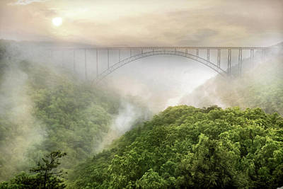 Fayetteville Photograph - New River Gorge Bridge by Lori Deiter