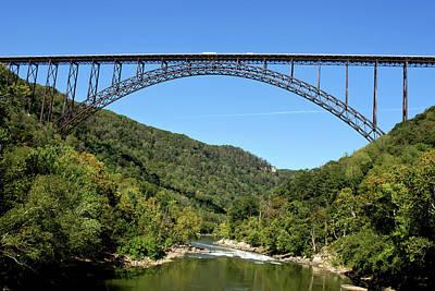 Photograph - New River Gorge Bridge by Michelle Joseph-Long