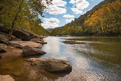 Photograph - New River Gorge National River by Rick Dunnuck