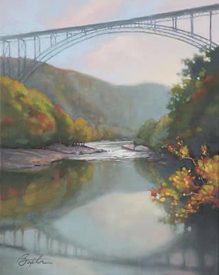 New River Gorge Art Print by Todd Baxter