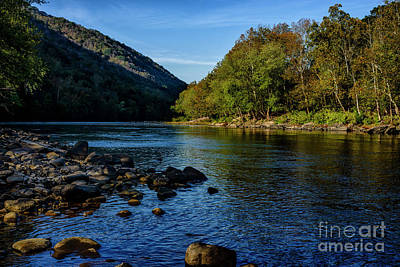 Photograph - New River In Morning Light by Thomas R Fletcher