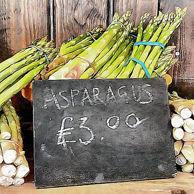 Photograph - New Season Asparagus by Dorothy Berry-Lound
