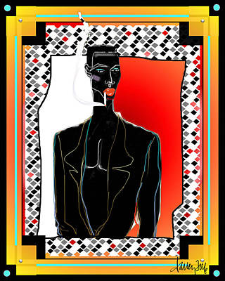 Digital Art - Amazing Grace Jones by Larry Talley