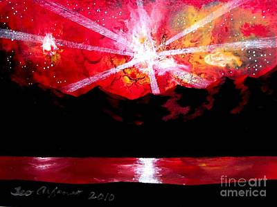 Painting - New Sky Art 21 by Teo Alfonso