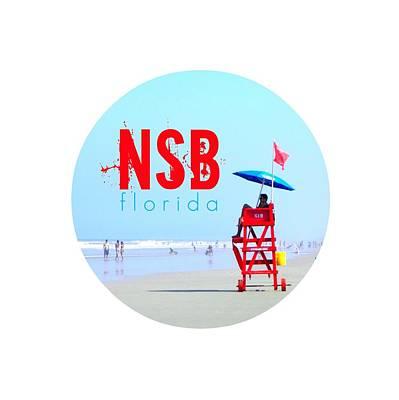 Digital Art - New Smyrna Beach T Shirt by Valerie Reeves