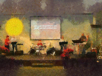 Photograph - 'new Song' Christian Worship Music by Tawes Dewyngaert