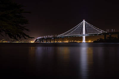 Photograph - New Span From Treasure Island by PhotoWorks By Don Hoekwater