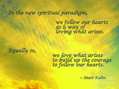 Photograph - New Spiritual Paradigm by Sybil Staples